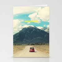 never stop exploring Stationery Cards featuring NEVER STOP EXPLORING III by Leslee Mitchell