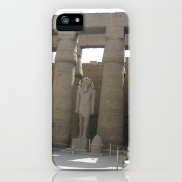 Temple of Luxor, no. 4 iPhone Case