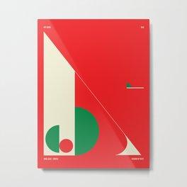 Argel — City Series Metal Print