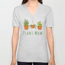 Plant Mom Unisex V-Neck