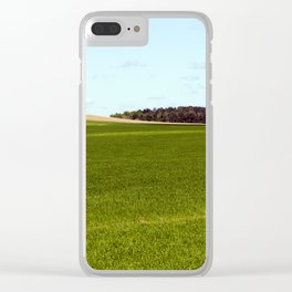 cereal unripe Clear iPhone Case