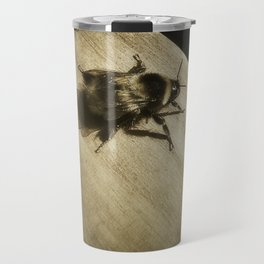 Bombus hortorum (The garden bumblebee) Travel Mug