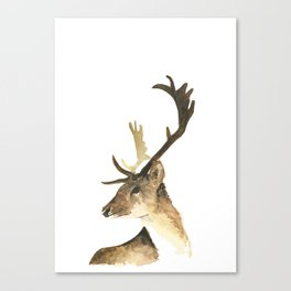 antlers of the snow Canvas Print