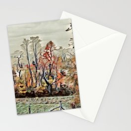 Autumn Field - SW Virginia  Stationery Cards