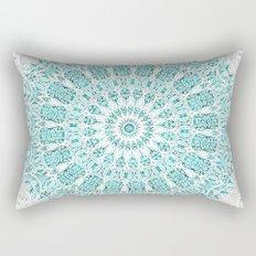 A Glittering Mandala  Rectangular Pillow