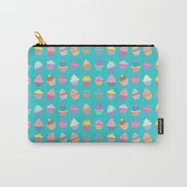 Cupcake sweet dream colourful factory pattern Carry-All Pouch