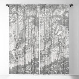 Brazilian Jungle Sheer Curtain