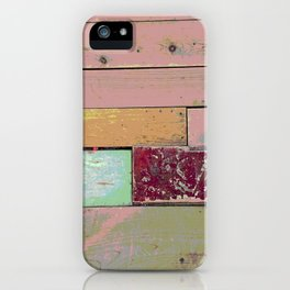 New Spin on an Old Floor iPhone Case
