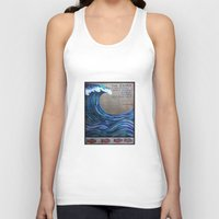 the cure Tank Tops featuring The Cure by Jeanne Hollington