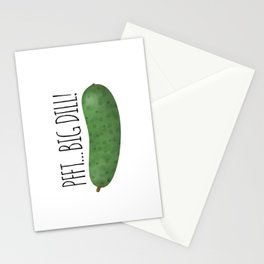 Pfft... Big Dill! Stationery Cards