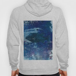 Cosmic fish, ocean, sea, under the water Hoody