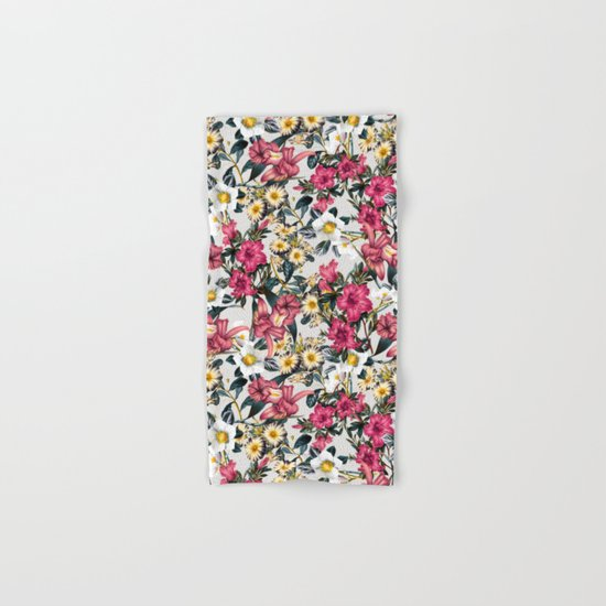 CLASSIC FLORAL PATTERN II Hand & Bath Towel