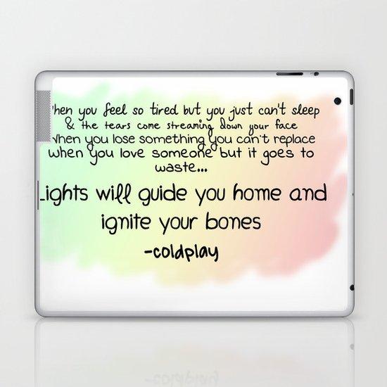 quotes Laptop & iPad Skin