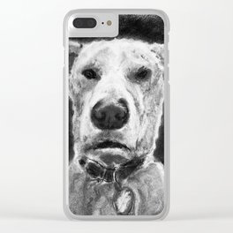 Temo - Charcoal Clear iPhone Case