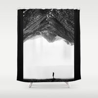 lost Shower Curtains featuring Lost in isolation by Stoian Hitrov - Sto