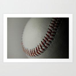 Baseball Ball Art Print