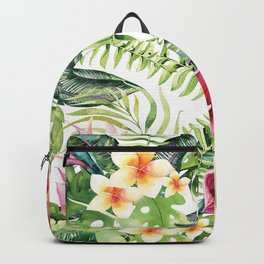Tropical Botanical Backpack