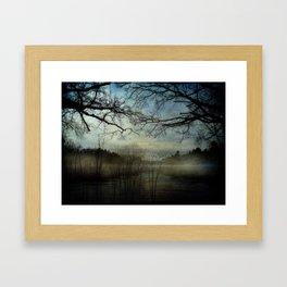 Veil of In Between Framed Art Print