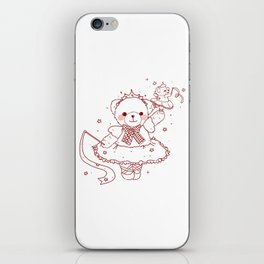 The Adventures of Bear and Baby Bear-Prima Ballerina iPhone Skin