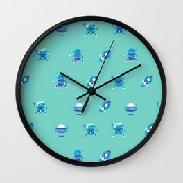 """Movie Patterns - """"Monday Sci-Fi"""" Wall Clock"""