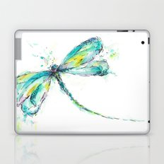 Watercolor Dragonfly Laptop & iPad Skin