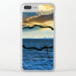 Nature's Framework - Magical New York Clear iPhone Case
