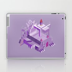 Den of the Headless Lion in Purple and Lavender Laptop & iPad Skin