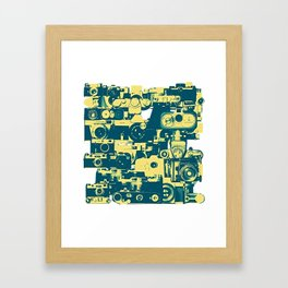 analogue legends Framed Art Print