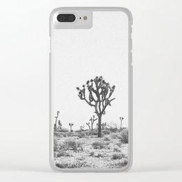 JOSHUA TREE VIII Clear iPhone Case