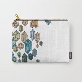 Watercolor Crystals Carry-All Pouch