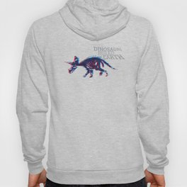 When Dinosaurs Ruled The Earth - Triceratops Hoody