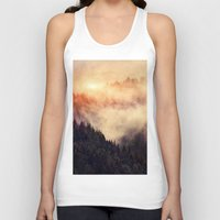 clock Tank Tops featuring In My Other World by Tordis Kayma