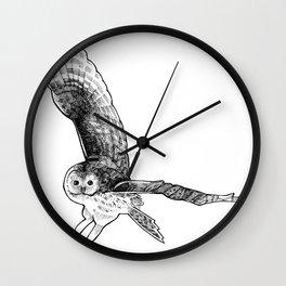 Ural Owl Wall Clock