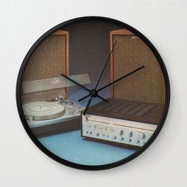 Vintage Speakers 1 Wall Clock