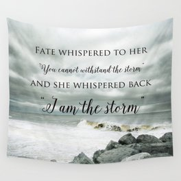 Fate Whispered to Her Wall Tapestry