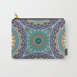 Ethnic colorful decorative mandala pattern Carry-All Pouch