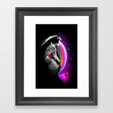 INFINITE CAT  Framed Art Print