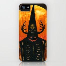 Autumn Acolyte iPhone Case