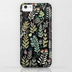 Dark Botanic iPhone 5c Slim Case