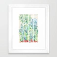Winter in Glass Houses I Framed Art Print