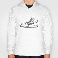sneaker Hoodies featuring Sneaker by YTRKMR