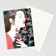 Butterflies // you make my heart flutter Stationery Cards