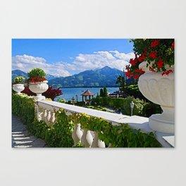 Austrian Veranda Canvas Print