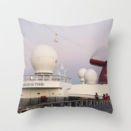 Bahamas Cruise Series 31 Throw Pillow