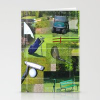 golf Stationery Cards featuring Golf by Andrew Sliwinski