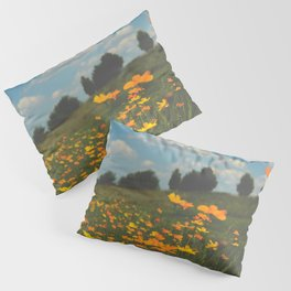 Dreaming in a Summer Field Pillow Sham