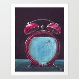 Slow Leak Art Print