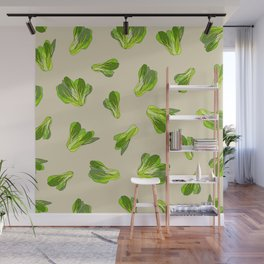 Lettuce Bok Choy Vegetable Wall Mural