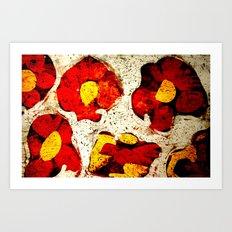 composition 7 Art Print