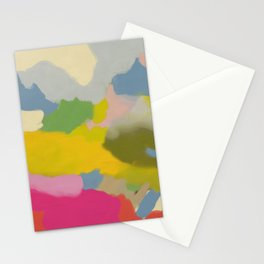 landscape abstract 1/11/19 Stationery Cards
